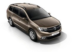Casco egy 2016-os Dacia Logan MCV-re